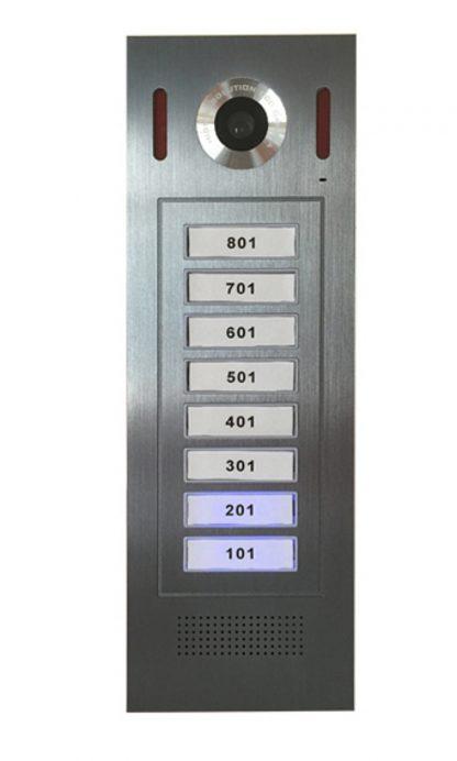 GSM ovipuhelin 8 asukkaalle